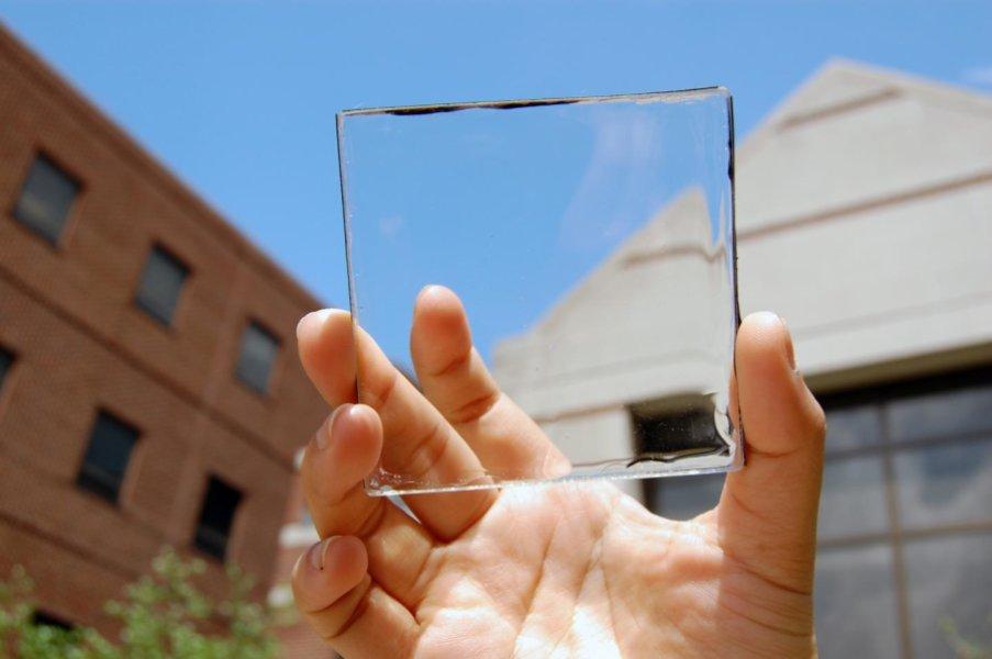 Científicos estadounidenses han creado paneles solares transparentes