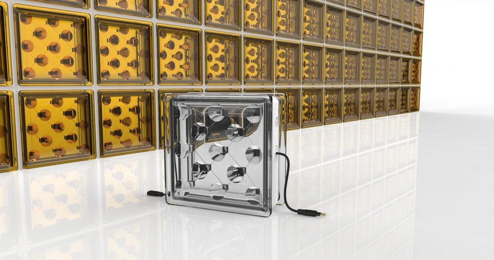 Солнечные стеклянные блоки — энергетическое решение для зданий