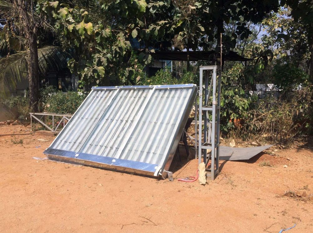An Indian startup wants to produce water from thin air using solar energy
